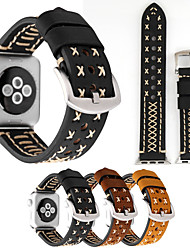Недорогие -для часов с яблоками серии 1 2 3 неподдельной кожи handmade watchbands уникальная замена часов спортивный браслет браслет запястья руки