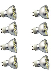 cheap -8 pcs 3W GU10 LED Spotlight 29 leds SMD 5050 Decorative Warm White Cold White 350lm 3000-7000K AC220V