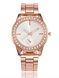 abordables -Mujer Reloj creativo único Reloj de Pulsera Reloj de Vestir Reloj de Moda Chino Cuarzo Gran venta Aleación Banda Casual Plata Dorado Oro