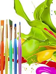 abordables -6pcs diy outil stylo ensemble gâteau glaçage décoration fine peinture pinceau