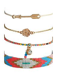 Women's Chain Bracelet Strand Bracelet Natural Gothic Rhinestone Alloy Jewelry For Casual Street