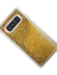 preiswerte -Hülle Für Samsung Galaxy Note 8 Mit Flüssigkeit befüllt Rückseite Glänzender Schein Weich TPU für Note 8