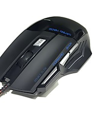 mouse di gioco con cavo collegato a usb 3200 dpi mouse ottico con cavo 7 usb del mouse di gioco per il gioco del pc