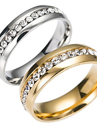 cheap -Men's Women's Band Rings Fashion Stainless Steel Jewelry Jewelry For Daily