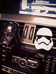 automobile di uscita aria griglia profumo casco modellazione bianco nero uno di ogni purificatore d'aria automobilistico