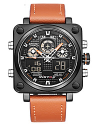 cheap -Men's Quartz Digital Watch / Military Watch / Sport Watch Japanese Alarm / Calendar / date / day / Chronograph / Water Resistant / Water