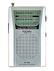 BC-R60 Radio portatile Argento