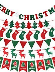 Árvores de Natal Meias Finas Bandeiras de Natal Natal NatalForDecorações de férias