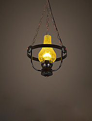 Retro Industrial Wind Single Head Restaurant Bar Lamp American Bar Coffee Shop Net Coffee