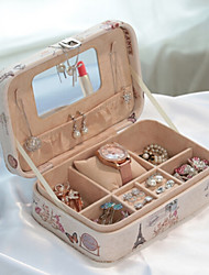 cheap -Jewelry Box with Lock, Jewelry Box Storage Items Eiffel Tower