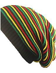 Недорогие -Универсальные Шапки Широкополая шляпа - Чистый цвет Радужный