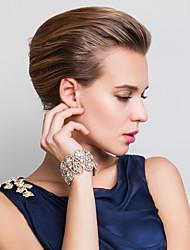 Недорогие -Жен. Браслеты-цепочки и звенья Синтетический алмаз Стразы Мода Стразы Сплав Бижутерия Для вечеринок Повседневные Бижутерия