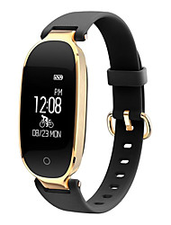 The New HHY S3 Smart Lady Fashion Bracelet Pedometer Heart Movement Sleep Monitoring Tracking