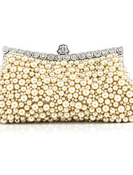 cheap -Women Bags PC Evening Bag Beading for Wedding Event/Party All Seasons White Black Beige