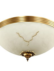 Copper antique ceiling lamp L