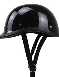 cheap -Half Helmet Relaxed Fit Fastness Durable Toughened Glass Motorcycle Helmets