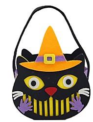 Недорогие -Призрак Монстры Тыква Сумки и кошельки Хэллоуин Фестиваль / праздник Костюмы на Хэллоуин Черный Мода