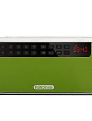 E500 FM AM Radio portable Lecteur MP3 Carte TFWorld ReceiverOrange Violet Vert Bleu
