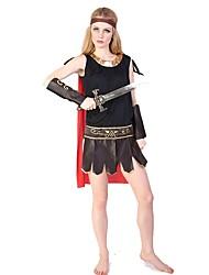 Cosyumes Romains Tenue Bal Masqué Féminin Halloween Fête / Célébration Déguisement d'Halloween Mosaïque