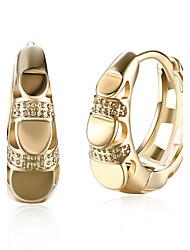 cheap -Women's Drop Earrings Hoop Earrings Cubic Zirconia AAA Cubic Zirconia Fashion Personalized Zircon Cubic Zirconia Circle Geometric Jewelry