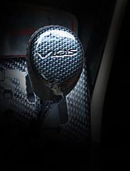 Automotivo Botão de mudança de veículo Rever(Fibra de Carbono)Para Toyota Todos os Anos Vios