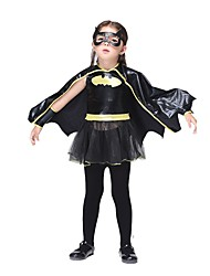 Outfits Bat Movie Cosplay Dress Gloves Eye Mask Halloween Christmas Kid leather