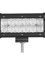 1PCS 7 Inches 5D 60W 6000LM 6500K LED Light Bar Flood Beam Spot Beam Optional with Super Lighting Pattern