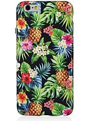 Para iPhone X iPhone 8 Case Tampa Estampada Capa Traseira Capinha Árvore Fruta Macia PUT para Apple iPhone X iPhone 8 Plus iPhone 8