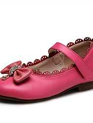 cheap -Girls' Shoes Leatherette Spring & Summer Comfort / Flower Girl Shoes / Light Soles Flats Bowknot / Sparkling Glitter / Magic Tape for
