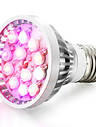 E14 GU10 E26/E27 LED Grow Lights 12 High Power LED 290-330 lm Natural White Red Blue UV (Blacklight) K AC 85-265 V