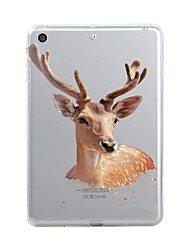 For iPad (2017) Case Cover Transparent Pattern Back Cover Case Christmas Soft TPU for Apple iPad (2017) iPad Pro 12.9'' iPad Pro 9.7''