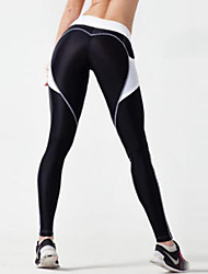 cheap -Women's Stitching Sporty Legging Color Block High Waist
