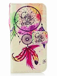 cheap -Case For Samsung Galaxy J7 (2017) J3 (2017) Wallet Card Holder Flip Pattern Magnetic Full Body Dream Catcher Hard PU Leather for J7