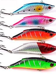 """abordables -5 pcs Cebos Señuelos duros g / Onza, 80mm mm / 3-1/4"""" pulgada, El plastico ABS Pesca de Mar Pesca de Cebo Pesca en Bote / Pesca al"""