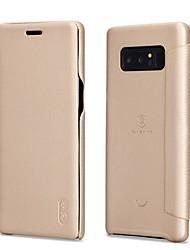 economico -Custodia Per Samsung Galaxy Note 8 Con chiusura magnetica Effetto ghiaccio Integrale Tinta unica Morbido Similpelle per Note 8
