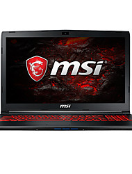 MSI Notebook 15.6 polegadas Intel i7 Quad Core 8GB RAM 1TB 128GB SSD disco rígido Windows 10 GTX1060 6GB