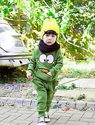 Недорогие -Мальчики Набор одежды Хлопок Винтаж Осень Зеленый Желтый