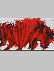 Dipinta a mano Astratto Orizzontale,Astratto Modern Un Pannello Tela Hang-Dipinto ad olio For Decorazioni per la casa