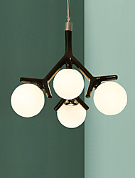 pingente de luz moderna resina pintura quarto / sala de jantar / sala de estudo / escritório
