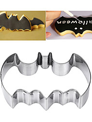 cheap -Stainless Steel Batman Cake Mold Halloween Decor Tool Baking Mold