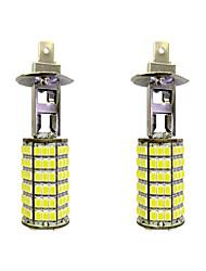 cheap -4W H1 120SMD2835 Near Light/Fog Lamp for Car White DC12V 2Pcs