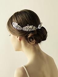 imitace perlové slitiny čelenky květy headpiece elegantní styl