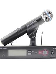 cheap -SLX24BETA58A Wireless Microphone Dynamic Microphone Handheld Microphone For Karaoke Microphone