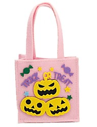 cheap -Ghost Monster Pumpkin Bags and Purses Halloween Festival / Holiday Halloween Costumes Pink Fashion