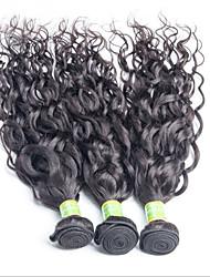 cheap -Virgin Brazilian Bundle Hair Loose Wave Hair Extensions 3 Pieces Black