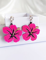 cheap -Women's Stud Earrings Acrylic Fashion Personalized China Flower Jewelry For Stage Club