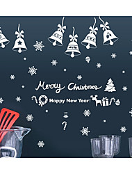cheap -Christmas Holiday Wall Stickers Plane Wall Stickers Decorative Wall Stickers,Paper Material Home Decoration Wall Decal