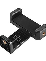 andoer adjuatable smartphone cliphalter clamp bracket plastik mit 1/4 schraube loch für iphone 7/7 plus / 6 / 6s / 6 plus / für samsung