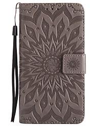 economico -Custodia Per Samsung Galaxy J7 (2017) J3 (2017) A portafoglio Porta-carte di credito Con supporto Con chiusura magnetica Fantasia/disegno