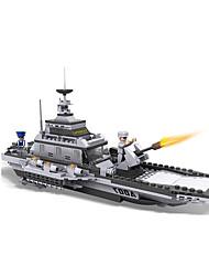 Blocos de Construir Brinquedo Educativo Brinquedos Inovador Barco de Guerra Peças Não Especificado Rapazes Dom
